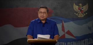 Ketua Umum Partai Demokrat Susilo Bambang Yudhoyono atau SBY