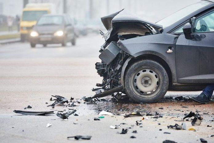 Ilustrasi kecelakaan mobil.(SHUTTERSTOCK)