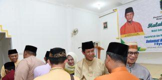 Wakil Gubernur Kepri Isdianto saat kunjungan kerja ke Dabo Singkep, Kabupaten Lingga, Senin (17/6/2019).