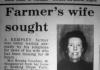 Berita hilangnya Brenda di koran lokal tahun 1982.