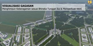 Gagasan Rencana dan Kriteria Desain Ibu kota Negara (Dok: PUPR)