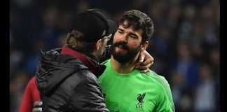 Alisson Becker (getty via UEFA)