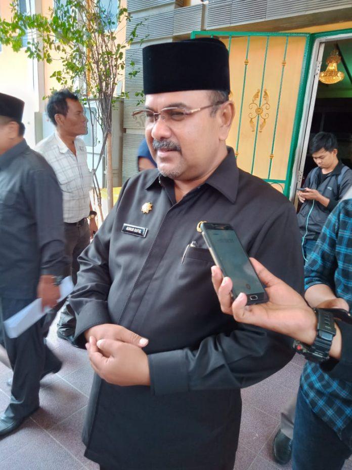 Ketum PS Karimun, Aunur Rafiq (Suryakepri.com/Rachta Yahya)