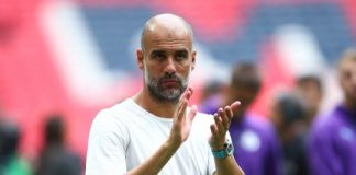 Manager Manchester City, Pep Guardiola. (Getty via Metro)