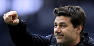 Manager Tottenham, Mauricio Pochettino. (football time)