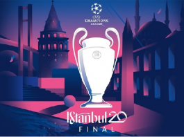 Logo Final Liga Champions Eropa 2019-2020 (UEFA)