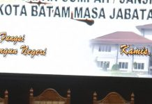 Suasana gladi bersih pelantikan anggota DPRD Kota Batam, Rabu (28/08/2019). (suryakepri.com/ist)