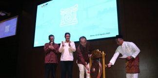 Isdianto saat menghadiri Pembukaan Rapat Koordinasi LPPBJ dan Fasilitator PBJ di Hotel Aston, Batam, Rabu (22/08/2019). FOTO:Suryakepri.com/ist