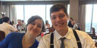 Megan Betts (kiri) dan kekasihnya yang juga menjadi korban tewas akibat penembakan brutal oleh Connor Betts. (Metro)
