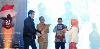 Peluncuran Sukuk ST005 di Jakarta, Kamis, 8 Agustus2019. (Kemenkeu)