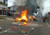 Susana kerusuhan di Papua Barat. (ishak/cnn)