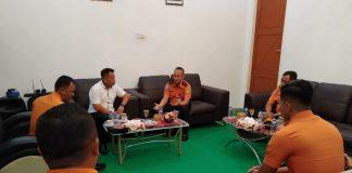 Basarnas Kepri bersilaturahmi dengan Wakil Bupati Lingga di Kantor Bupati Lingga, Kepri. (Sumber: Humas Pemkab Lingga)
