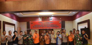Kapolres Tanjungpinang AKBP Ucok Lasdin Silalahi memimpin rakor penanggulangan Karhutla wilayag Tanjungpinang.