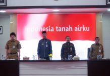 Wali Kota Tanjungpinang Syahrul saat menghadiri sosialisasi Adipura 2025 dan Jakstrada.