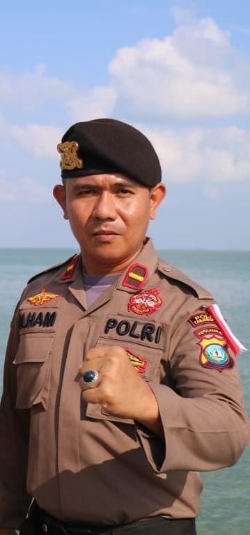Ipda Jul Ilham perwira Polres Tanjungpinang.