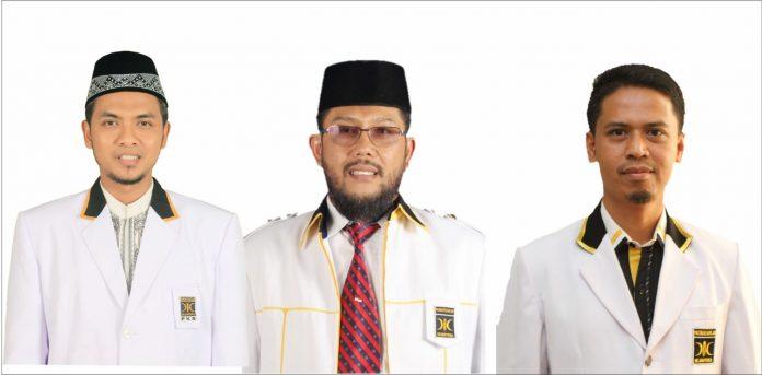 Kiri ke kanan: Suyadi, HM Taufiq dan Iskandarsyah. (Foto Suryakepri.com/dokumentasi PKS Karimun)