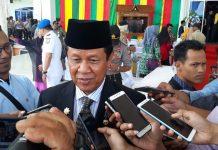 Plt Gubernur Kepri Isdianto ditemui di kantor DPRD Tanjungpinang (Foto: Suryakepri.com/MBA)