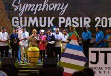Acara Puncak Jogja Tourism Festifal (JTF) 2019 di Gumuk Pasir Bacan Bantul, Yogyakarta, Jumat (27/09/2019) Foto: Dokumen Jogja Tourism Festival (JTF) 2019.