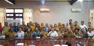 Rapat koordinasi pembentukan posko penanggulangan kabut asap di Tanjungpinang (Ist)