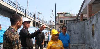 Wali Kota Tanjungpinang Syahrul didampingi Wakil Wali Kota Rahma serta TP4D dan Kepala OPD saat meninjau proyek strategis Pemko Tanjungpinang (Dok Humas Pemko Tanjungpinang)