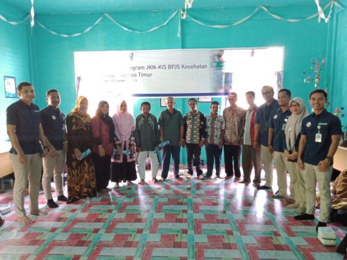 BPJS Kesehatan Cabang Tanjungpinang saat sosialisasi di Kabupaten Kepulauan Anambas (Ist)