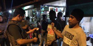 Tim gabungan dari Mapolda Kepulauan Riau, Satpol PP, dan Dinas Sosial Pemko Batam melaksanakan razia gabungan, Sabtu (31/08/2019). (suryakepri.com/ist)