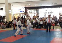 Ajang Festival and Competition Karate BKC Batam 2019 di Kepri Mall Minggu (8/09/2019) berlangsung semarak. (suryakepri.com/purwoko)