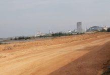 Reklamasi yang berlangsung di area yang dulu lebih dikenalal sebagai obyek wisata Ocarina, Batam Centre.(suryakepri.com/prk)