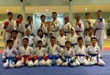Ilustrasi karateka BKC.
