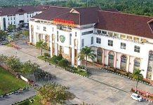 Kantor Bupati Penajam Paser Utara, calon ibukota baru Republik Indonesia. (Foto: Indonesia.id)