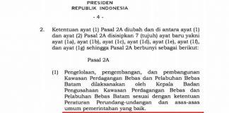 Surat Salinan PP yang beredar di media sosial. (ist)