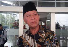 Ketua DPD Partai Gerindra Kepri Syahrul saat ditemui di Hotel CK Tanjungpinang (Foto: Suryakepri.com/MBA)