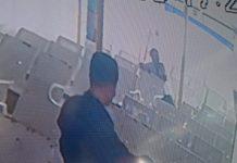 OH alias Okvi, satu dari 4 kawanan curat yang beraksi di Kundur Barat terekam CCTV kapal roro Karimun. Foto Suryakepri.com/istimewa