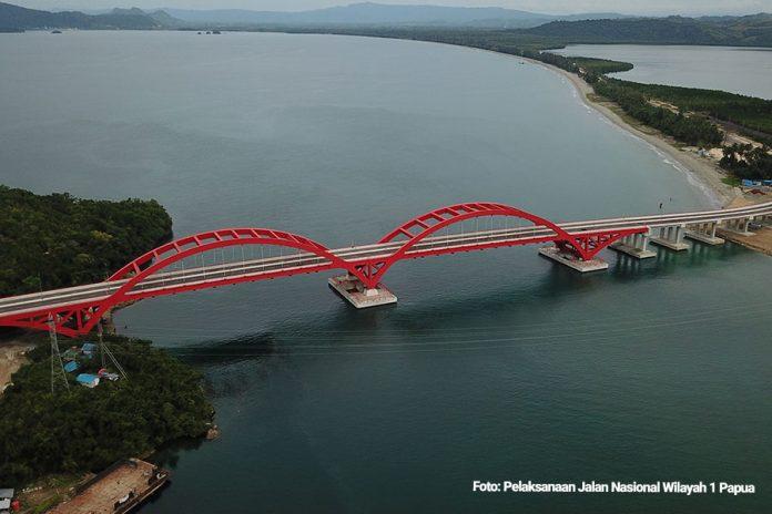 Jembatan Youtefa, Papua. (Foto: Kemenkeu)