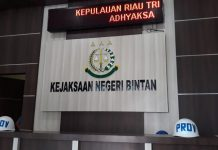 Kantor Kejaksaan Negeri (Kejari) Bintan (Foto: Suryakepri.com/MBA)