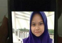 foto Khairunisa yang dinyatakan hilang. (yahya)
