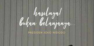 Pesan berupa meme di akun twitter resmi Presiden Jokowi soal pemanfaatan DIPA dan TKDD. (Sumber: Tiwitter)