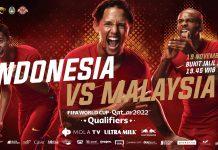 Indonesia vs Malaysia (Sumber: PSSI)