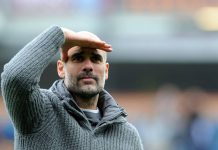 Pelatih Manchester City Pep Guardiola (Sumber: standard.co.uk)