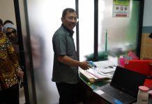 mENKES Terawan Agus Putranto SAAT SIDAK di Puskemsas Mertoyudan 1, Magelang, Jawa Tengah. (Foto: Kemenkes)