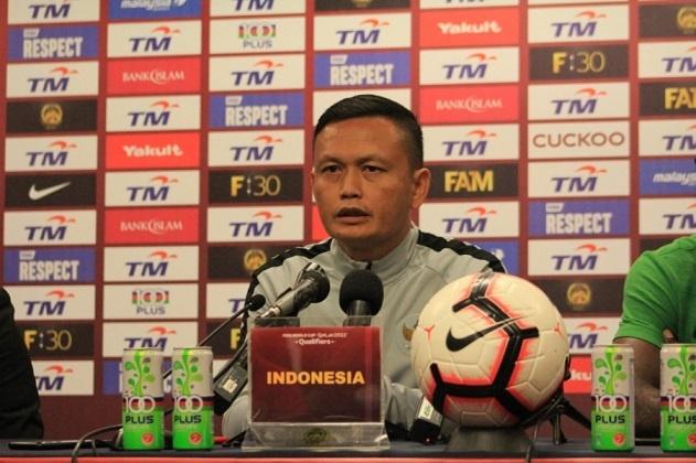 Caretaker Pelatih Timnas Indonesia, Yeyen Tumena (Foto: PSSI)