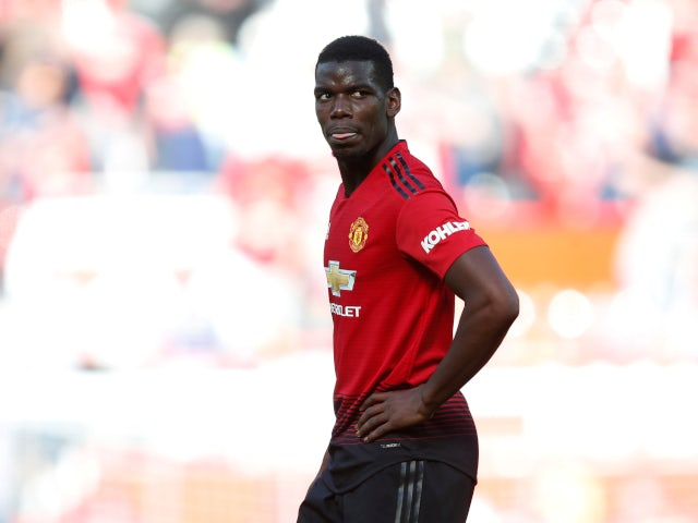 Gelandang Manchester United Paul Pogba. (Sumber: Sportsmole)
