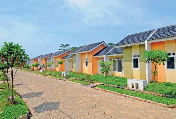 Ilustrasi rumah sederhana (sumber: housing estate)
