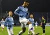 Selebrasi Gabriel Jesus usai menetak gol ke gawang Dinamo Zagreb. Jesus mencetak hatrik dalam kemenangan 4-1 tas tuan rumah. (Foto: Twitter Man City)