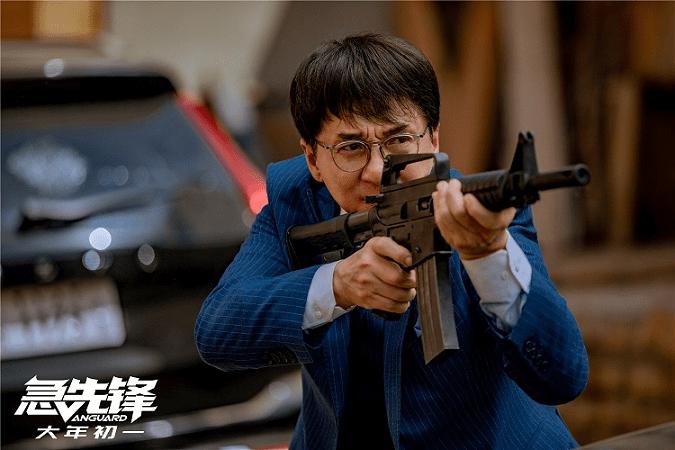 Jackie Chan saat syuting film Vanguard.(Foto: imdb.com)