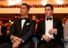 Ekspresi Cristiano Ronaldo (kiri) dan Lionel Messi saat pengumuman pemenang Ballon d'Or 2019. (Sumber: Twitter ESPN)