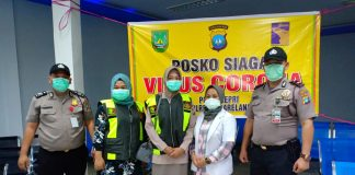 Polsek KKP Batam Dirikan Posko Siaga Penyebaran Virus Corona di Lima Pelabuhan, Selasa (28/1/2020).