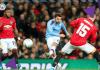 Tembakan Bernardo Silva dari jarak 22 meter menembus gawang David De Gea untuk membawa City memimpin 1-0. (Foto: Twitter Man City)