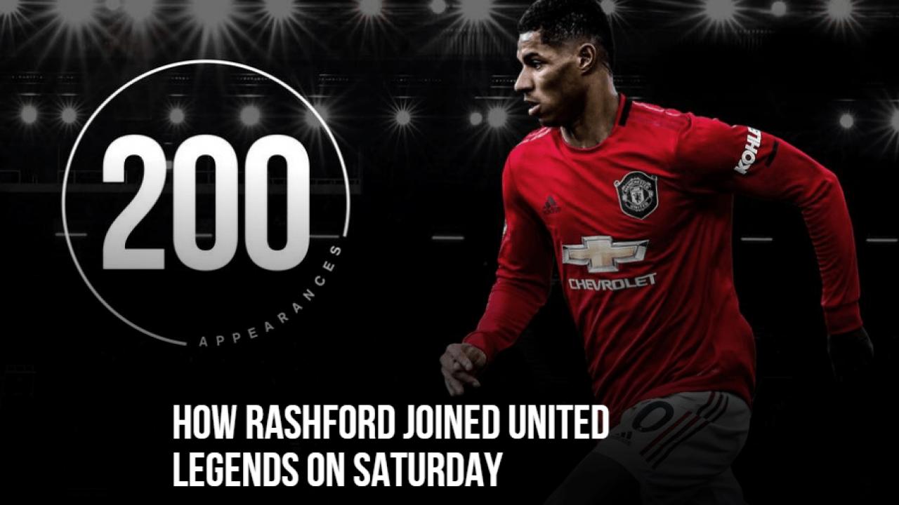 Rashford Masuk Daftar Legenda MU Lewati Ronaldo Dan Rooney