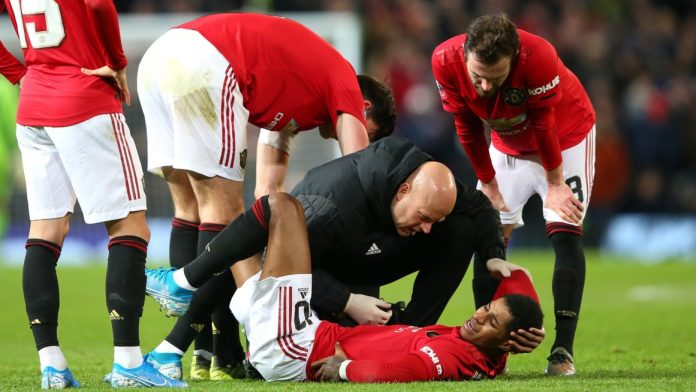 Marcus Rashford cedera (Sumber: Livescore)